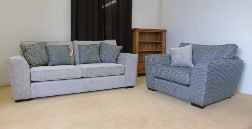 Hobbs 3 Seater Sofa with Contrasting Snuggler